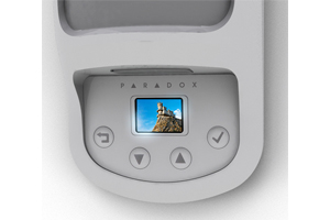 Paradox new NVX80 wired high end motion detector